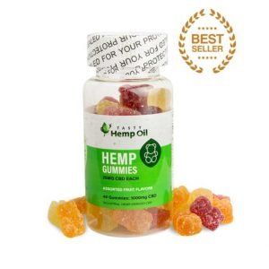 Made By Hemp CBD Gummies 40 Count 25 mg