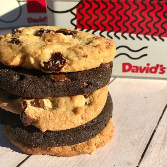 David's Cookies Stack Tin