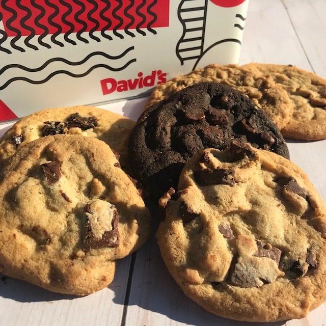 David's Cookies Variety Tin