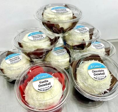 JL Cakes Snow Ball Cakes
