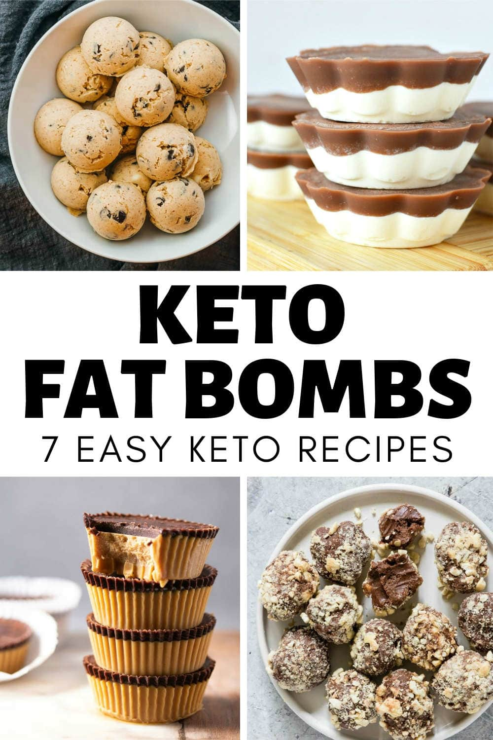 KETO FAT BOMBS 7 EASY RECIPES