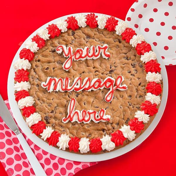 Mrs Fields Cookie Cake
