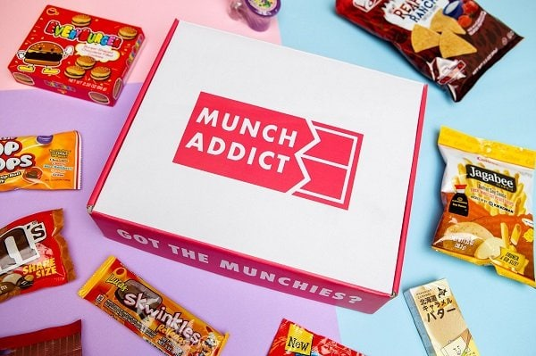 Munch Addict Snack Subscription Box