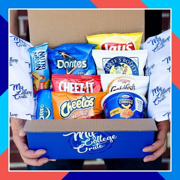 My College Crate Snack Subscription Box