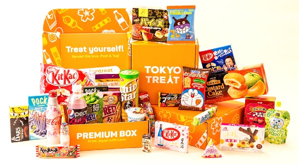 Toyko Treat Monthly Japanese Snack and Candy Subscription Boxes