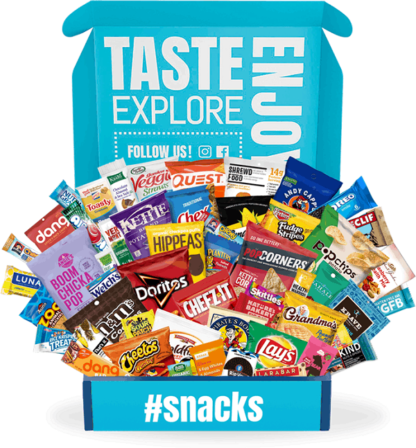 Variety Fun Snack Subscription Box