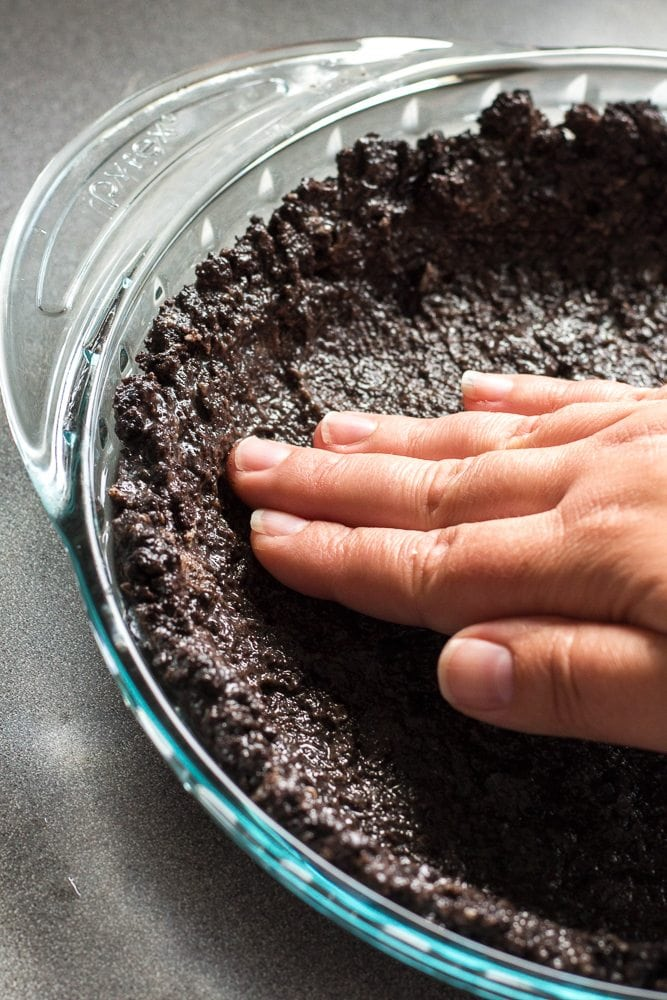 Oreo Cookie Pie Crust