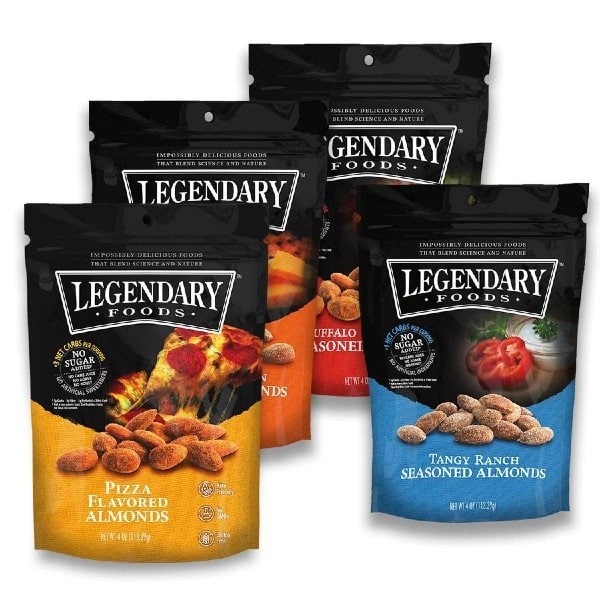 Legendary Foods Seasoned Nut Snacks