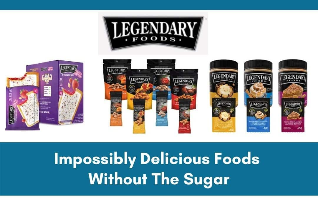 Legendary Foods Nut Butter Pastries Nut Snacks