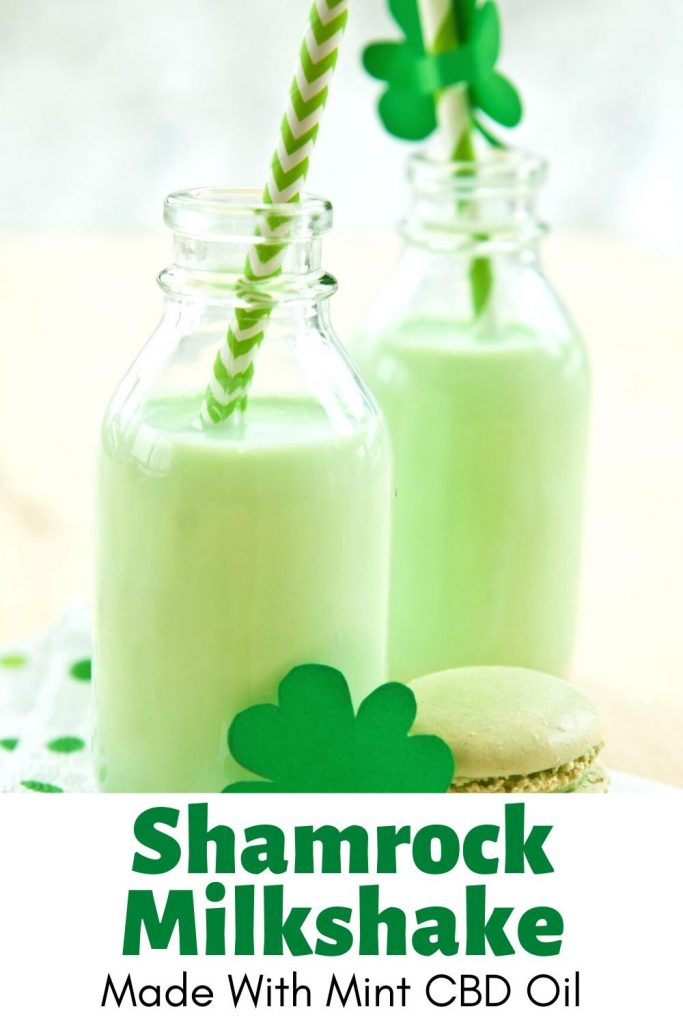Mint CBD Shamrock Shake