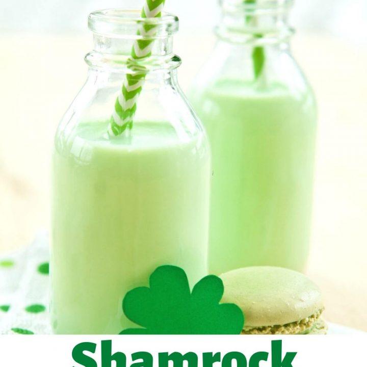 CBD Shamrock Milkshake