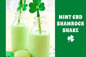 Mint CBD Shamrock Shake Feature
