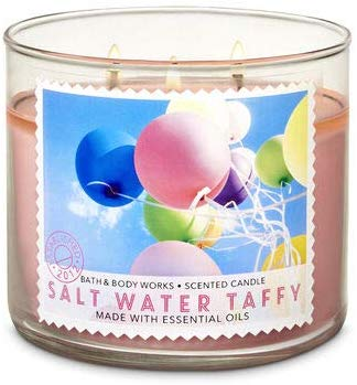 Bath and Body Works Salt Water Taffy Scented Candle