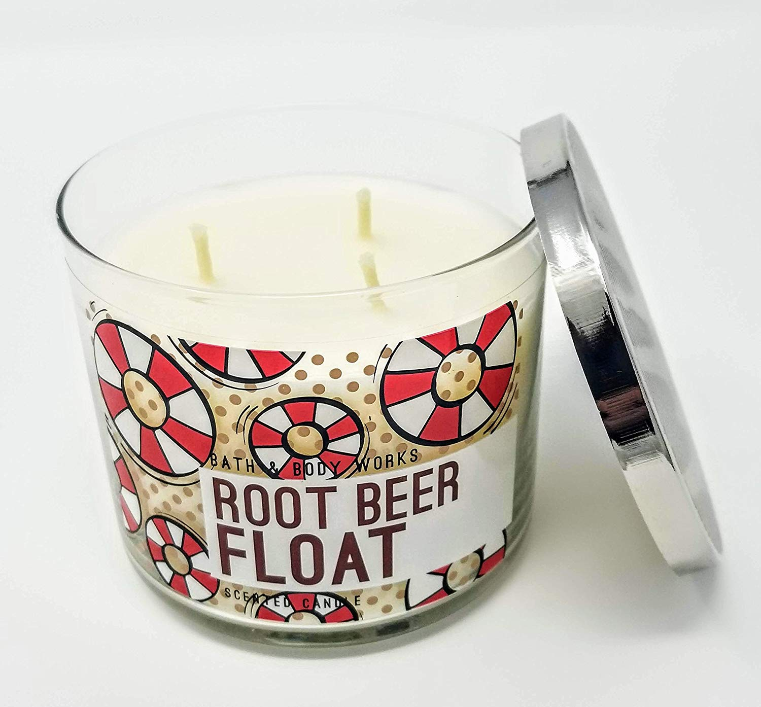 Bath & Body Works Root Beer Float Scented Candle