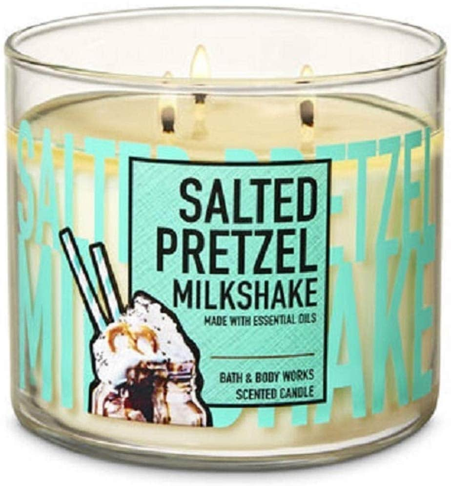 Bath & Body Works Salted Pretzel Milkshake Scented Candle