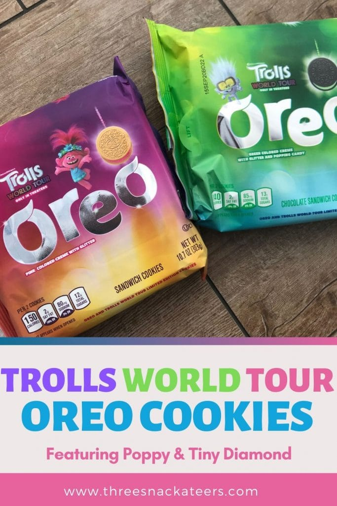 Trolls World Tour Oreo Cookies