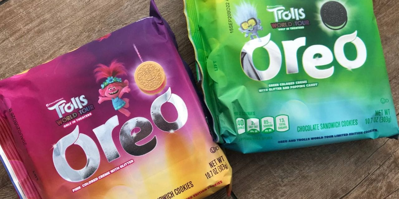 Trolls World Tour Oreo Cookies Review