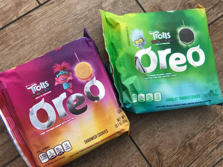 Trolls World Tour Oreo Cookies