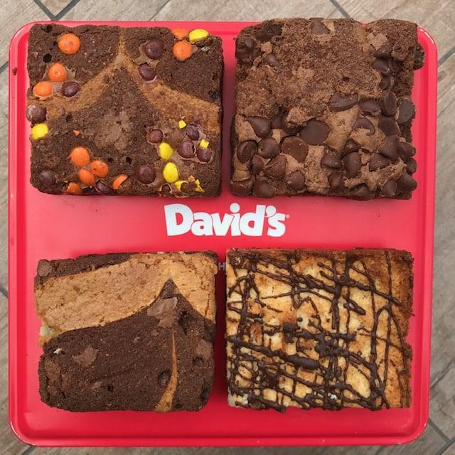 David's Cookies Brownie Assortment