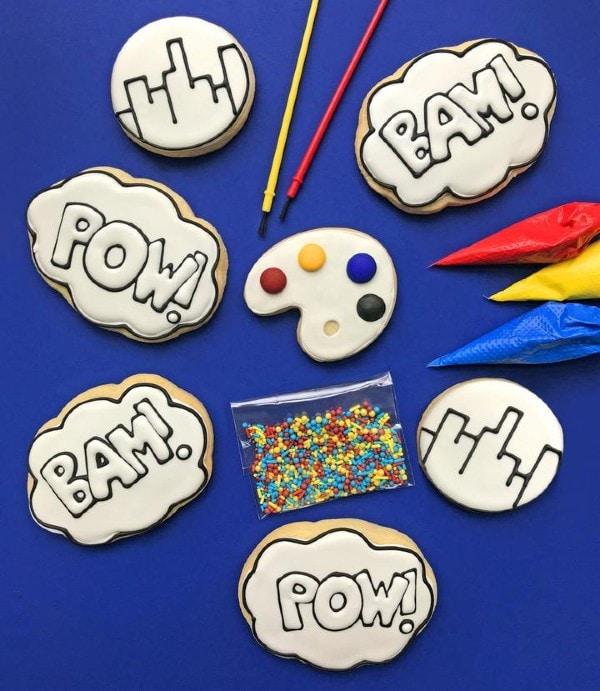Color My Cookie Custom Decorating Kit Superhero Boys