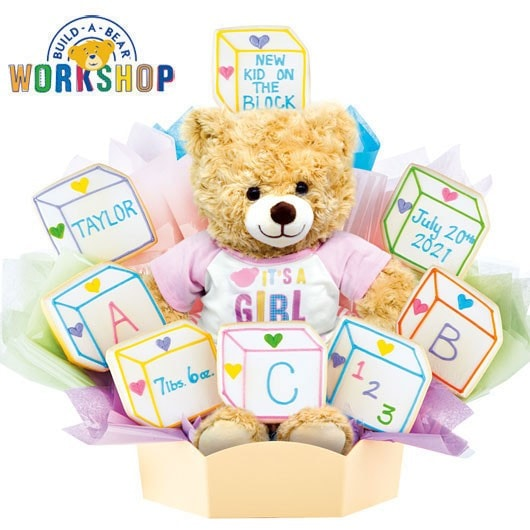 Cookies By Design Build A Bear Cookie Bouquet