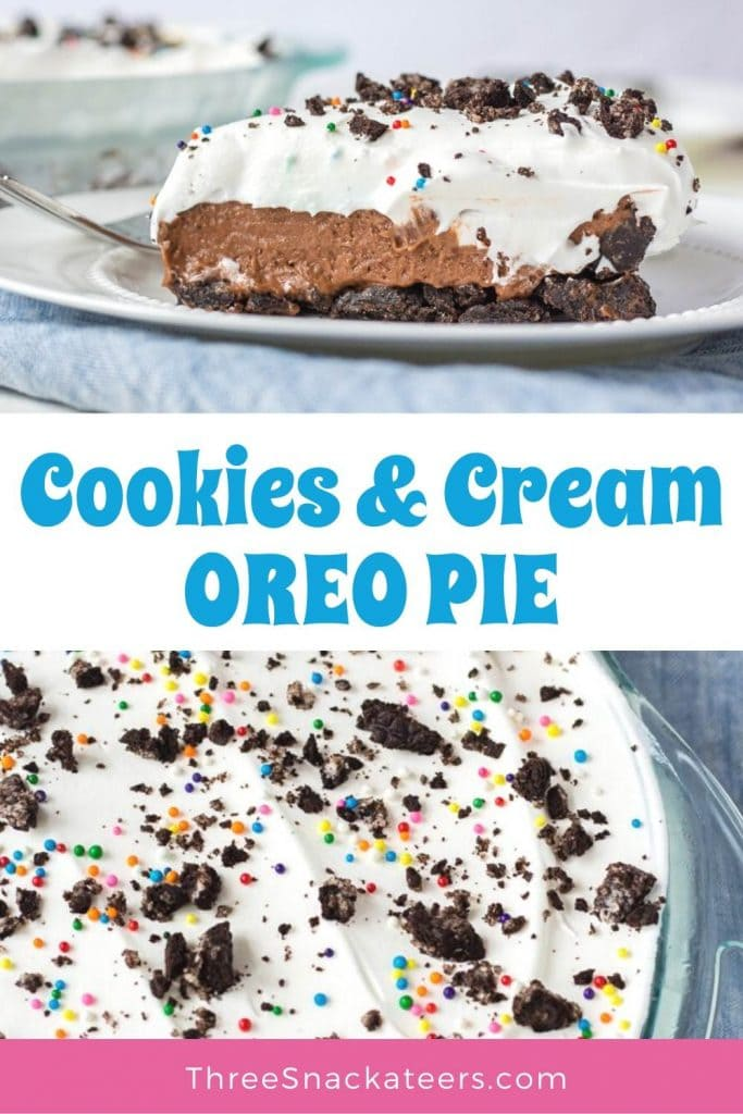 Oreo Cookie Pie Recipe