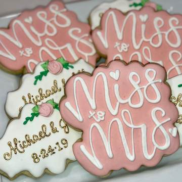 Southern Sugar Wedding Cookies
