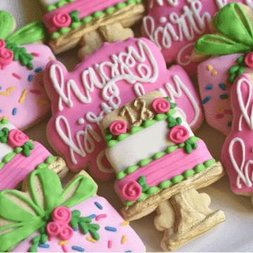 Southern Sugar Birthday Cookies