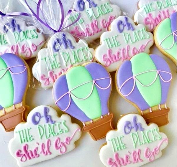 Sugarworks Balloon Cookies