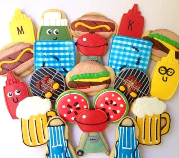 Sugarworks Summer BBQ Cookies