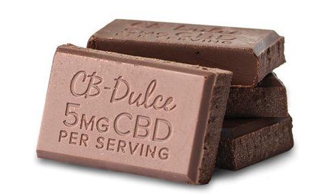 CB-Dulce Dark Chocolate CBD Bar