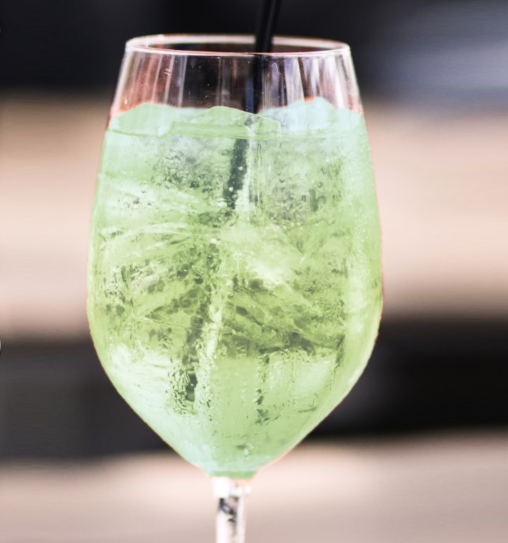 CBD Cocktail Wine Spritzer