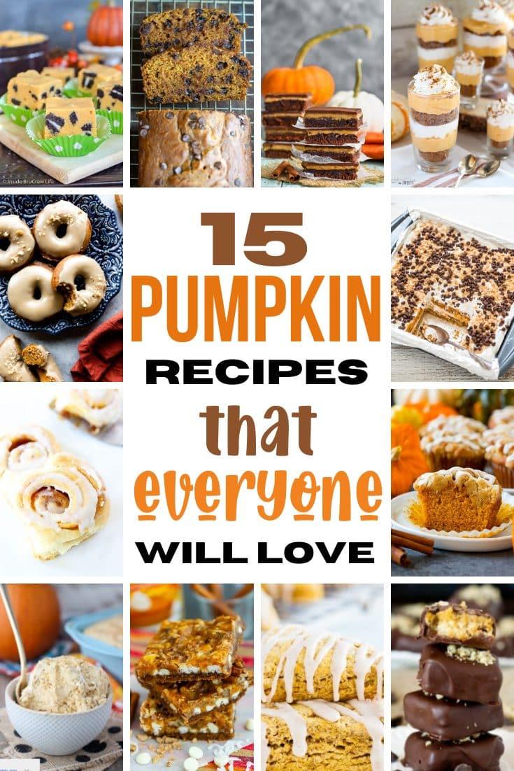 15 Pumpkin Recipes That Everyone Will Love