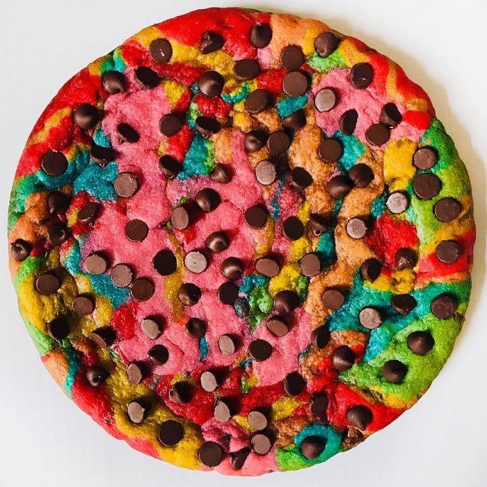 Baked In Color Custom Rainbow Cookie Cake