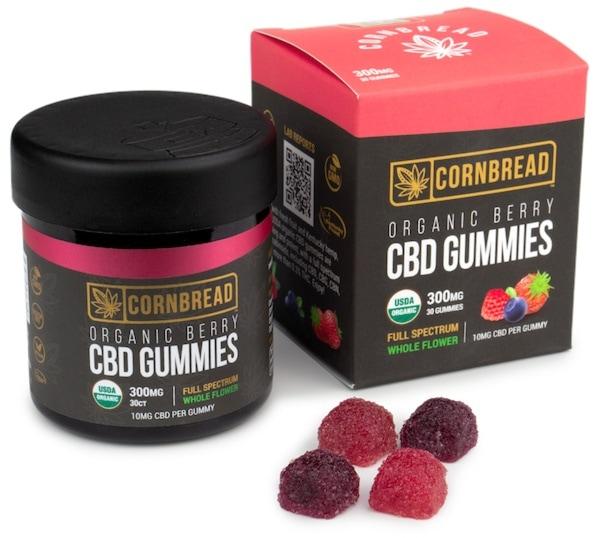 Cornbread Hemp Vegan CBD Gummies