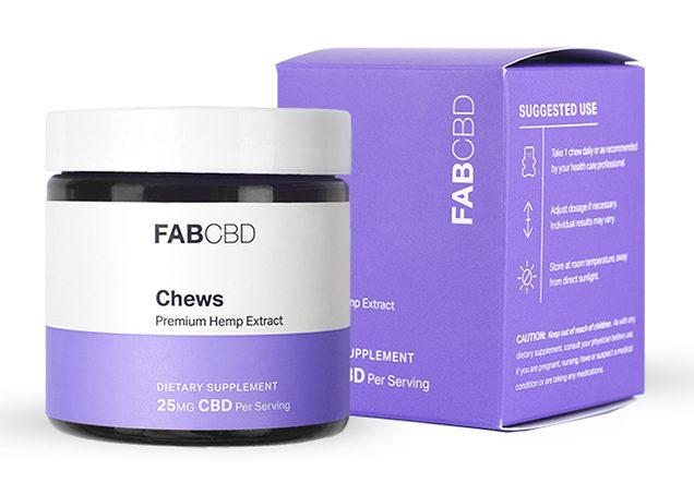 FabCBD Vegan Daytime Chews