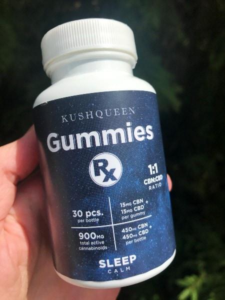 Kush Queen CBD CBN Gummies For Sleep