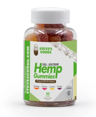Steve's Goods Vegan CBD Gummies
