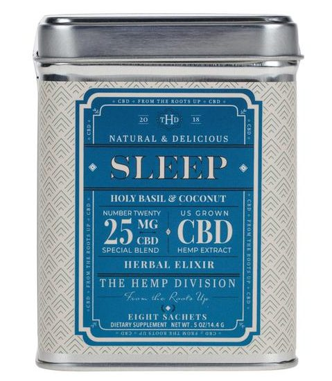The Hemp Division Sleep CBD Tea