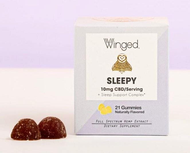 Winged Womens Wellness Sleepy CBD Gummy