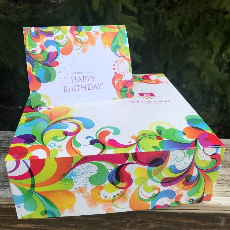 Bake Me A Wish Box and Card
