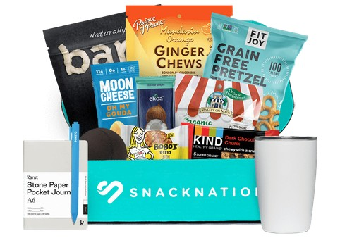 SnackNation Healthy Snack Subscription Boxes