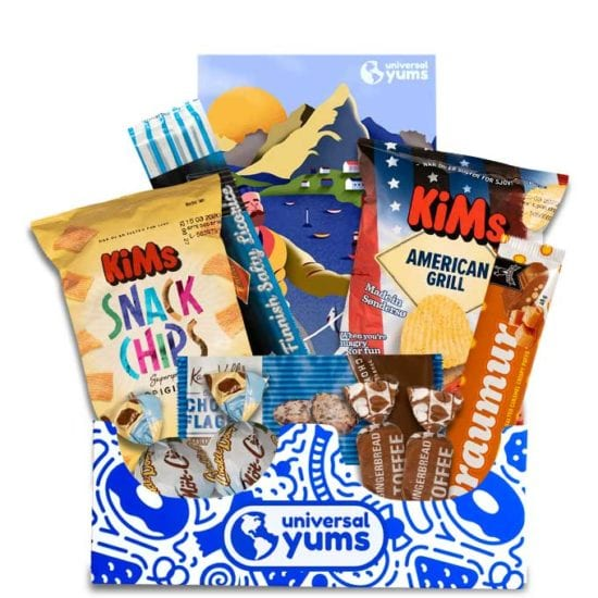 Universal Yums International Snack Subscription Boxes