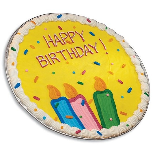 Cookies By Design Happy Birthday Chocolate Chip Cookie Cake With IcingCookies By Design Happy Birthday Chocolate Chip Cookie Cake With Icing