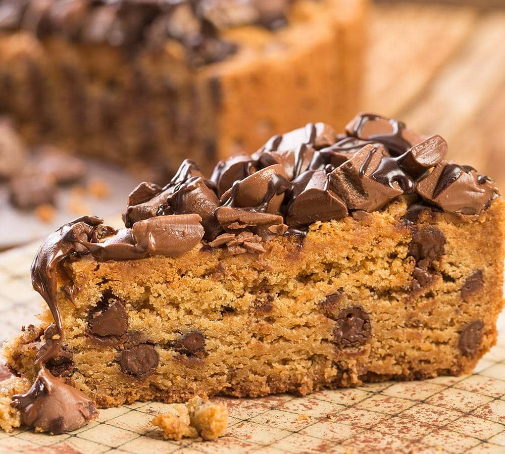 Davids Cookies Chocolate Chip Deep Dish Cookie Cake