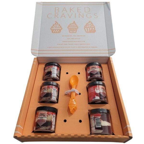 Baked Cravings Cupcakes In A Jar 6 pack
