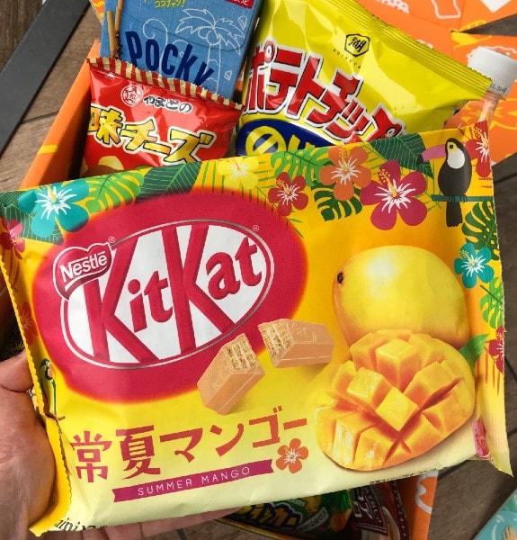 Mango Kit Kats Tokyo Treat Subscription Box