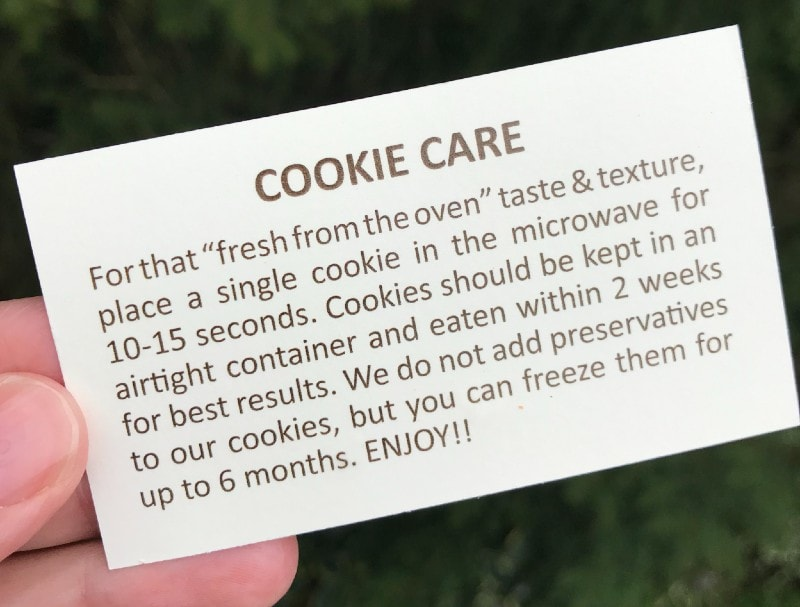 Moonshine Mountain Cookie Instructions