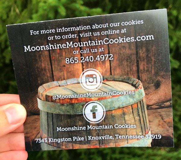 Moonshine Mountain Cookies Contact Information