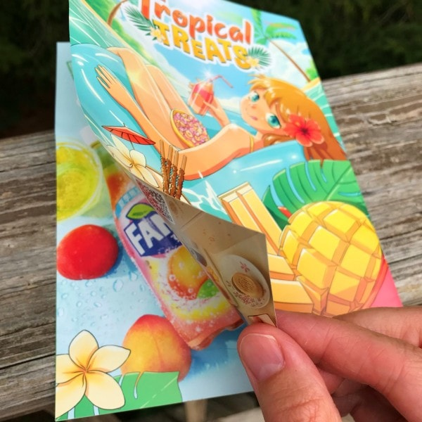 Tokyo Treat Snack Booklet Opens From Back